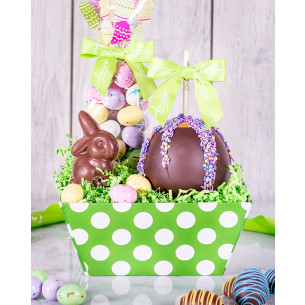 Easter caramel apples gourmet easter gifts spring candy apples quick view bunny easter gift tray negle Gallery