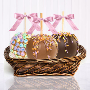 Gourmet apple gift baskets gourmet basket gifts quick view three apple spring gift basket negle Gallery