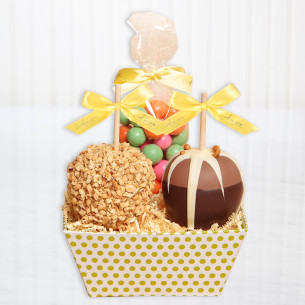 Chocolate gift packs chocolate gift basket ideas quick view two apple spring gift tray negle Image collections