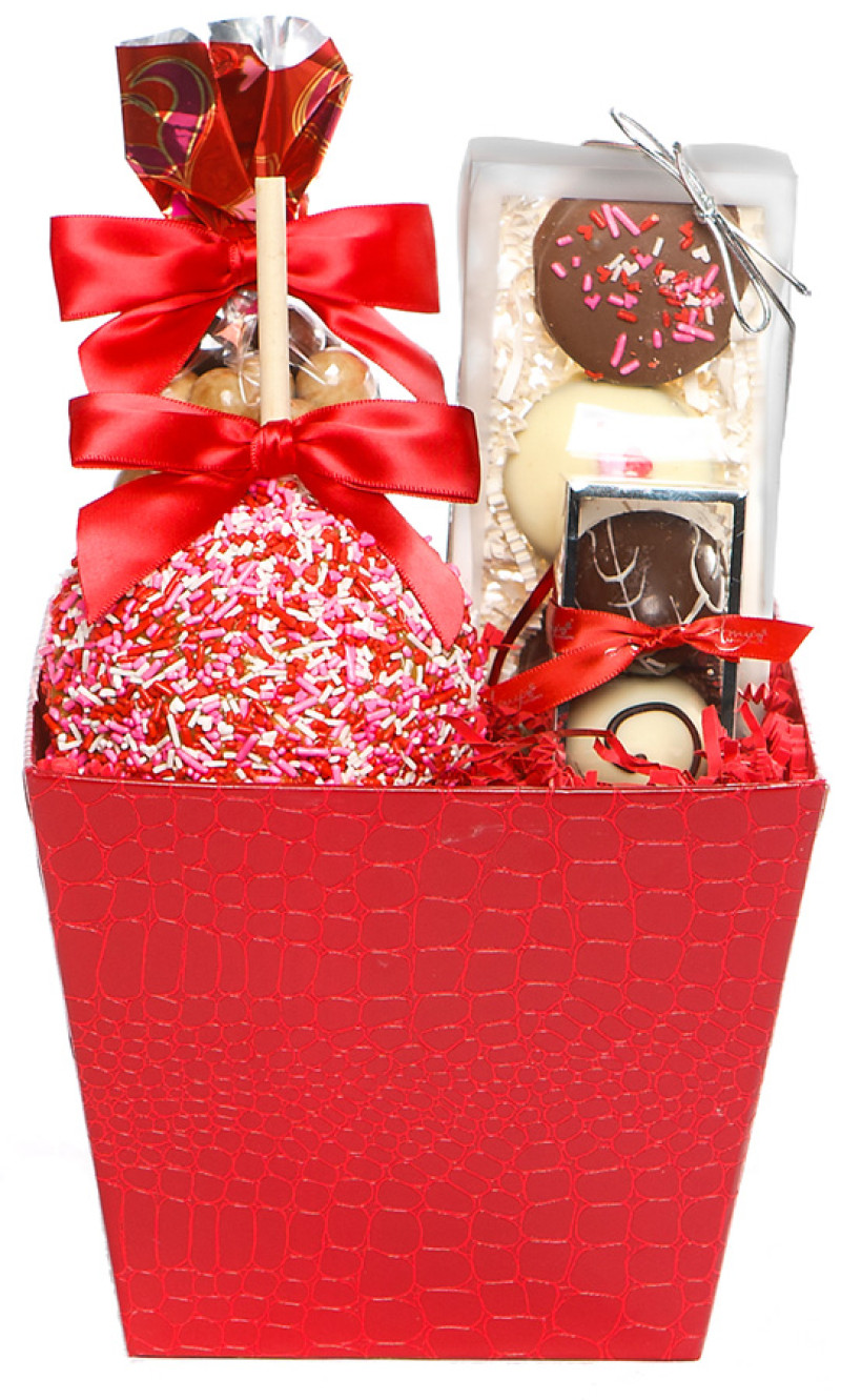Gourmet Valentine Gift Small Romantic Gift Amy S Gourmet Apples