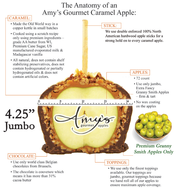 The Anatomy of an Amy's Gourmet Caramel Apple