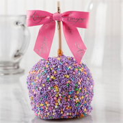 Spring Sprinkle Caramel Apple