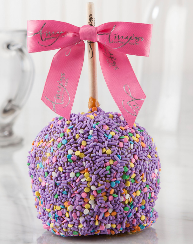 Caramel Apple With Sprinkles Caramel Apple Gifts
